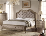 Chelmsford Bed in Antique Taupe Finish by Acme - 26050Q