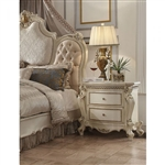 Picardy Nightstand in Antique Pearl Finish by Acme - 26883