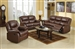 Fullerton 2 Piece Set in Brown Bonded Leather Match by Acme - 50010-S