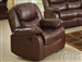 Fullerton Recliner in Brown Bonded Leather Match by Acme - 50012