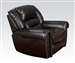 Ralph Recliner in Dark Brown Leather by Acme - 50287