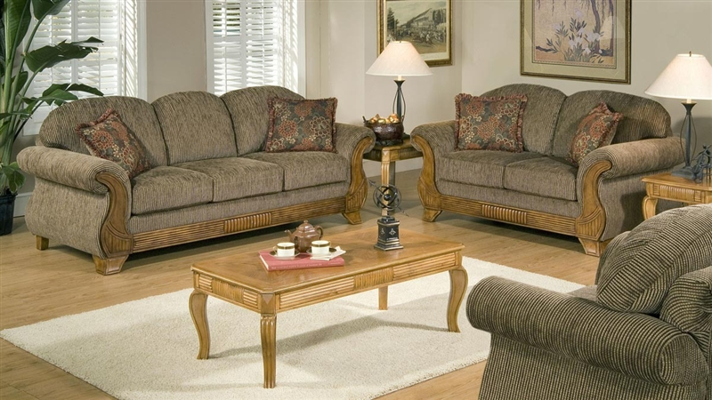Tomato 2 Piece Fabric Sofa Set by Serta Upholstery - 50325-S