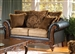 Ronalynn Loveseat in San Mario Chocolate/ Splurge Fabric by Serta Upholstery  - 50341