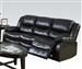 Fullerton Reclining Sofa in Espresso Bonded Leather by Acme - 50560