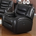 Dacey Espresso Leather Glider Recliner by Acme - 50742