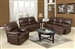 Daishiro Chestnut Leather 2 Piece Reclining Set by Acme - 50745-S