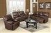 Daishiro Chestnut Leather 2 Piece Reclining Set by Acme - 50748-S