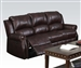 Josef Reclining Sofa in Brown Polished Microfiber by Acme - 50775