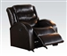 Noah Rocker Recliner in Espresso Leather by Acme - 50832
