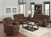 Bailey Dark Brown Chenille 2 Piece Reclining Set by Acme - 51025-S