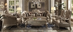 Dresden 2 Piece Living Room Set in Gold Patina Finish by Acme - 52090-S