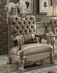 Dresden Chair in Gold Patina Finish by Acme - 52092