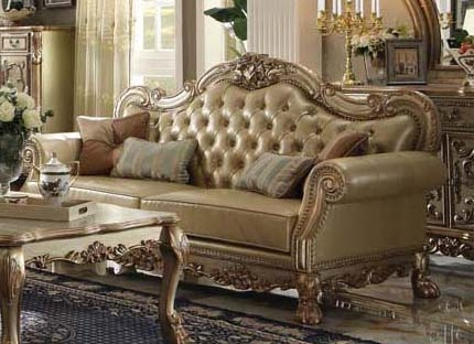 Dresden Sofa in Gold Patina Finish by Acme - 53160