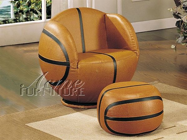 Excellent All Star Basketball Chair Ottoman By Acme 5527 Unemploymentrelief Wooden Chair Designs For Living Room Unemploymentrelieforg