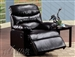 Arcadia Espresso Bycast Recliner by Acme - 59010
