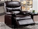 Arcadia Brown Bycast Recliner by Acme - 59011