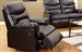 Arcadia Espresso Bonded Leather Recliner by Acme - 59017