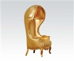 Jana Neo Classic Gold Throne Chair Accent Chair by Acme - 59117