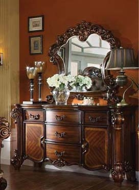 Vendome 5 Piece 48 Inch Round Glass Top Counter Height