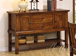Newton Server in Oak Finish by Acme - 6608