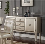 Voeville Server in Platinum Finish by Acme - 72028