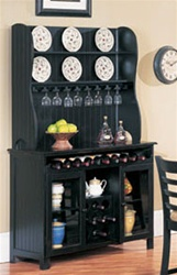 Wellesley Baker's Rack in Black Finish by Acme - 7868