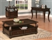 Amado Coffee Table in Espresso Finish by Acme - 80010