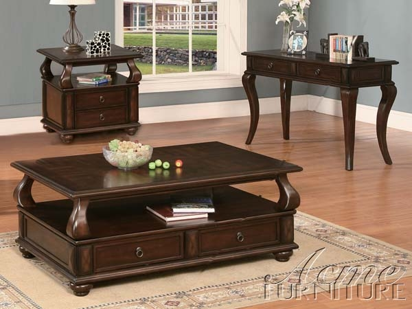 Amado Coffee Table In Espresso Finish By Acme 80010