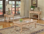 Shantoria Coffee Table in Natural Washed Finish by Acme - 81585