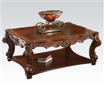 Vendome Rectangular Coffee Table in Cherry Finish by Acme - 82000