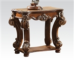 Vendome Side Table in Cherry Finish by Acme - 82003