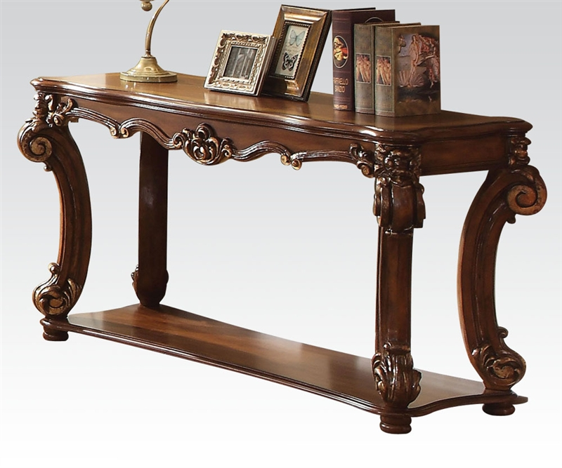 Vendome Sofa Table in Cherry Finish by Acme 82004