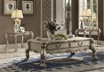 Dresden Coffee Table in Gold Patina Finish by Acme - 82090