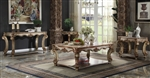 Vendome Coffee Table in Gold Patina Finish by Acme - 83000