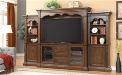 Bycrest Entertainment Center in Cherry Finish by Acme - 91295