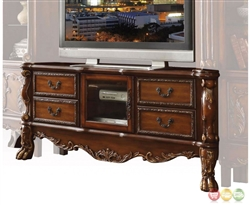 Dresden 79 Inch TV Stand in Cherry Oak Finish by Acme - 91338