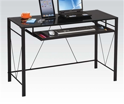 Esta Black Computer Desk by Acme - 92080