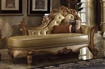 Vendome Chaise in Gold Patina Finish by Acme - 96485