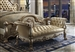 Dresden Upholstered Bench in Gold Patina Finish by Acme - 96488