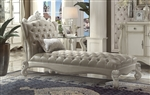 Versailles Chaise in Bone White Finish by Acme - 96542
