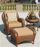 Villanova Woven Outdoor Club Chair by Bridgeton Moore 10706630