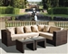 Panorama 4pc Sectional Woven Outdoor Living Set by Bridgeton Moore 10830657