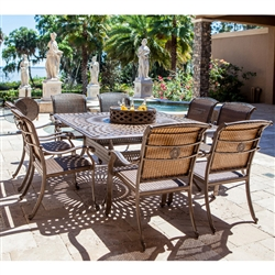Palladio 10pc Patio Dining Set by Bridgeton Moore 11108261