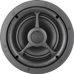 "Atlantic Technology - 6 1/2"" 2 Way Thin Bezel In-Ceiling Speaker-SINGLE ATL-IC-6.1-S"