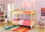 Thomas Twin/Twin Bunk Bed in Yellow Finish by Acme - 02188YL