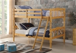 Homestead Twin/Twin Bunk Bed in Natural Finish by Acme - 02299