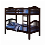 Heartland Twin/Twin Bunk Bed in Espresso Finish by Acme - 02554