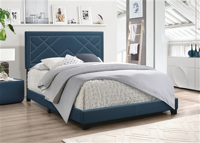 Ishiko Bed in Dark Teal Finish by Acme - 20860Q