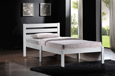 Donato Twin Bed in White Finish by Acme - 21528T