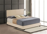 Ireland III Bed in Beige Finish by Acme - 24280Q